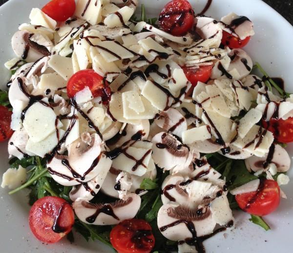 Menue Salat